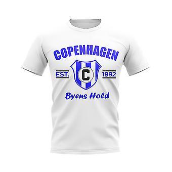 Copenhagen Established Football T-Shirt (White)