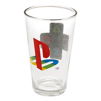 Playstation Official Large Glass