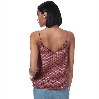 Womens Only Diana Tile Print Cami Top In Arabian Spice