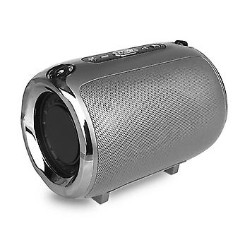 Przenośne głośniki Bluetooth S518 5W - srebrny