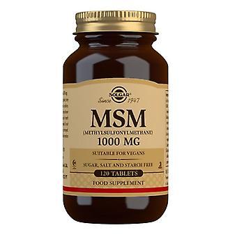 سولغار MSM 1000mg أقراص 120 (1734)