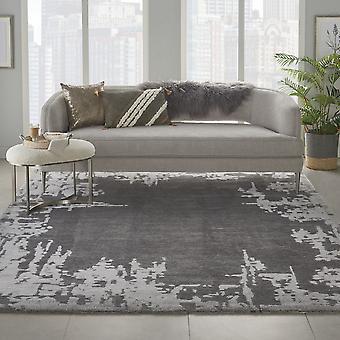 Symmetrie tapijten Smm02 door Nourison in grijs beige