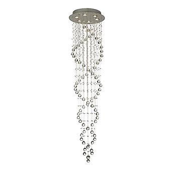 Diyas Colorado Loft Spiral 6 Lys poleret Chrome / Crystal