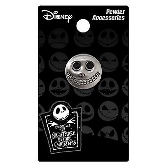Pin - Nightmare Before Christmas - Barrel Mask Pewter Lapel Licensed 26523