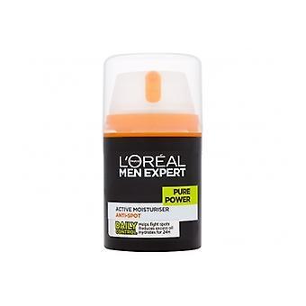 L'Oreal miesten asiantuntija puhdasta voimaa aktiivinen kosteusvoide 50ml