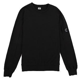 CP bedrijf licht fleece lens bemanning Sweatshirt zwart 999