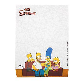 Simpsons Familie Memo Pad