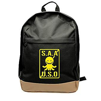 ABYstyle - CLASSROOM ASSASSINATION - Backpack - S.A.A.U.S.O - Black (31x42x14 cm)
