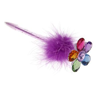 Pixie Pony and Friends Gem Flower Pen (One Supplied)