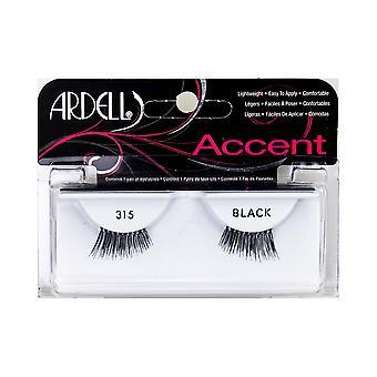 Ardell Pestañas Accent #315-negro para las mujeres