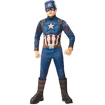 Boys Captain America Costume -  Avengers: Endgame