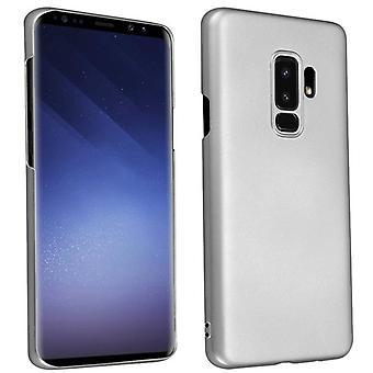 Cadorabo Funda para Samsung Galaxy S9 PLUS funda de la funda - Caja de plástico hardcase contra arañazos y golpes - Parachoques de funda protectora Ultra Slim Back Case Tapa dura