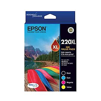 Epson 220XL-alta capacidade DURABrite ultra-4 Color Value Pack