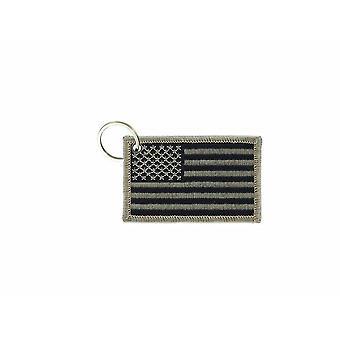 Cle Cles Key Brode Patch Ecusson Bandiera USA Usa Camo