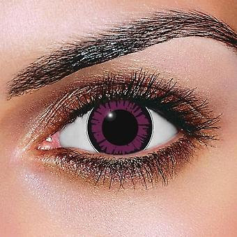 Big Eye Dolly Eye Violet Contact Lenses (Pair)