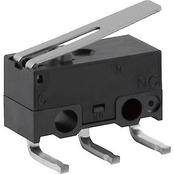ZF Microswitch DG23-B3LA 30 V DC 0.05 A 1 x On/(On) momentary 1 pc(s)