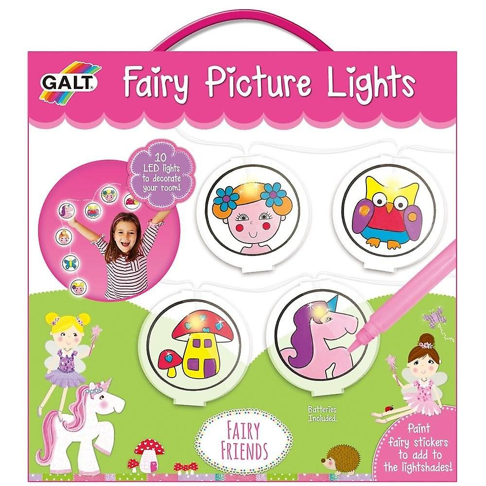 Galt Fairy Picture Lights - Craft Kit