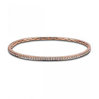 bracciabracciale diamante - 18K 750 oro rosso - 0.78 ct.
