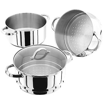 Judge Steamers, 22cm 3 Tier Steamer Set