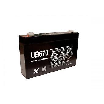 Vervangende UPS batterij compatibel met TrippLite UB670