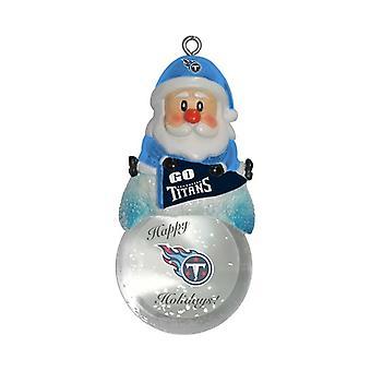 Tennessee Titans NFL Snow Globe ornament