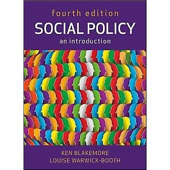 Social Policy An Introduction by Ken Blakemore