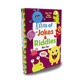 Lots of Jokes and Riddles Box Set by Winn Whee
