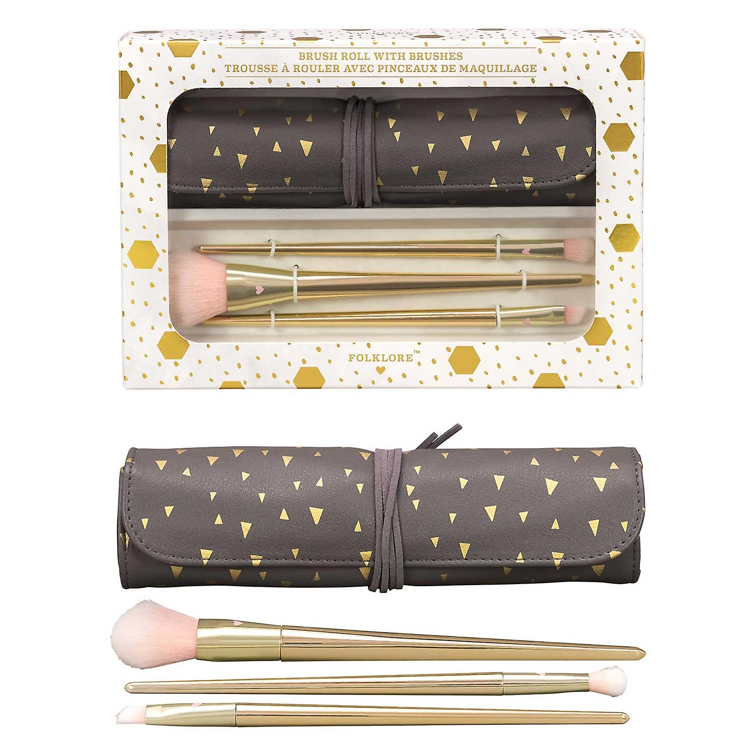 Make Up Brush Roll Set - Folklore Collection Wild & Wolf