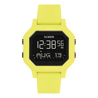 Nixon Watch A1210-1955-00 - Siren Digital Silicone Yellow Male/Female Display