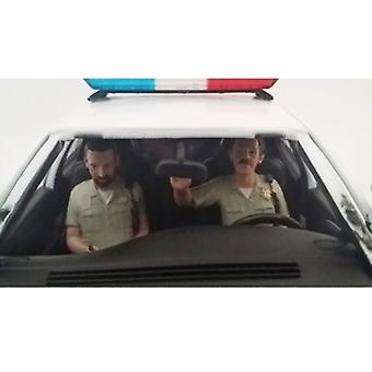 Seated Sheriff Officers 2 Piece Figure Set For 1:18 Models By American Diorama