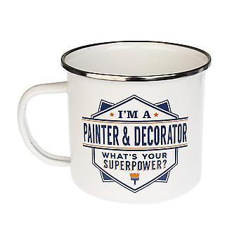 Historia & Heraldry Painter & Decorator Tin Mug 21