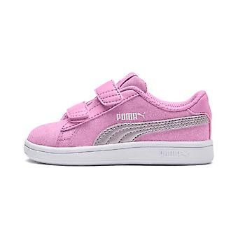 Puma Infants Smash V2 Glitz Glam V Trainer