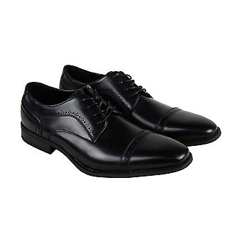 Unlisted by Kenneth Cole Bryce Lace Up Mens Black Dress Lace Up Oxfords Shoes
