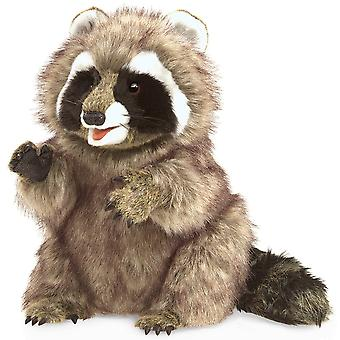 Hand Puppet - Folkmanis - Raccoon New Animals Soft Doll Plush Toys 3075