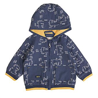 Babyglobe Boys Coat Dino Blue