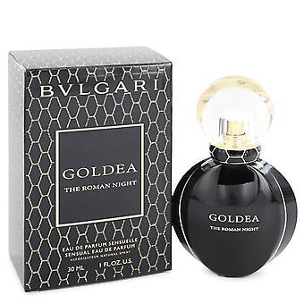 Bvlgari Goldea Die römische Nacht von Bvlgari Eau De Parfum Sensuelle Spray 1 oz / 30 ml (Frauen)
