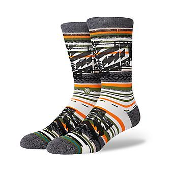Stance Rey Crew Socks in Green