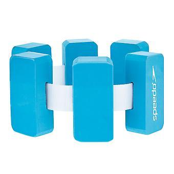 Speedo Aqua Wasser Schwimmen Schwimmgürtel blau/weiß