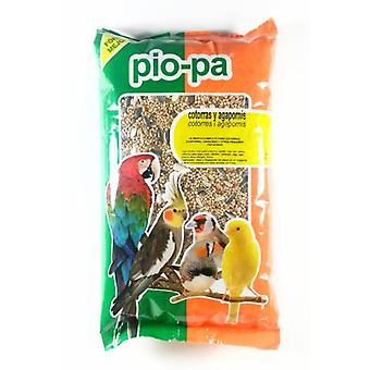 Pio-Pa Complete and Balanced Food for Parrots and Lovebirds (Birds , Bird Food)