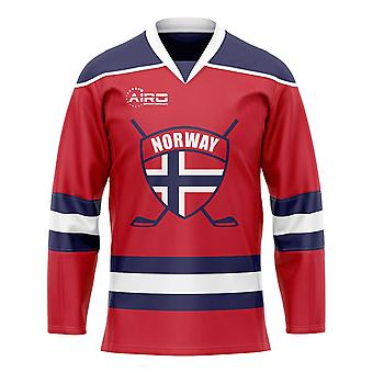 Noorwegen Home IJshockey Shirt