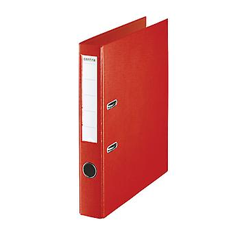 RVFM A4 Folder Lever Arch File 50mm Polypropylene Red
