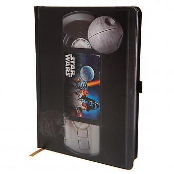 Star Wars Premium VHS Notebook