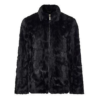 TIGI Charcoal Faux Fur Jacket