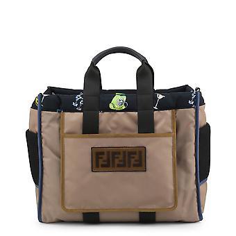 Fendi Original Unisex All Year Handbag - Brown Color 34352