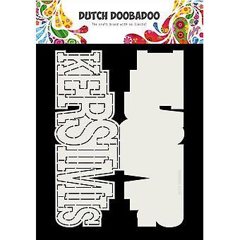 Hollandsk Doobadoo Card kunst Kerstmis A4 (NL) 470.713.724