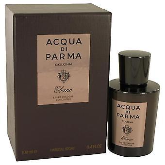 Acqua Di Parma Colonia Ebano Concentree Eau De Cologne Spray de Acqua Di Parma 3.4 oz Eau De Cologne Spray de Concentree