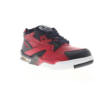 British Knights Control Mid  Mens Red Lifestyle Sneakers Shoes