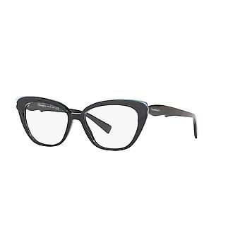 Tiffany TF2184 8279 Crystal Blue On Black Glasses