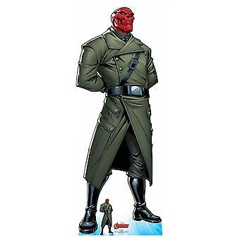 Red Skull Officiële Lifesize Marvel Avengers Kartonnen Cutout / Standee