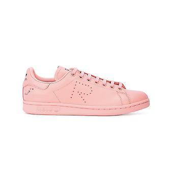 Adidas Von Raf Simons Ezcr024011 Damen's Rosa Leder Sneakers